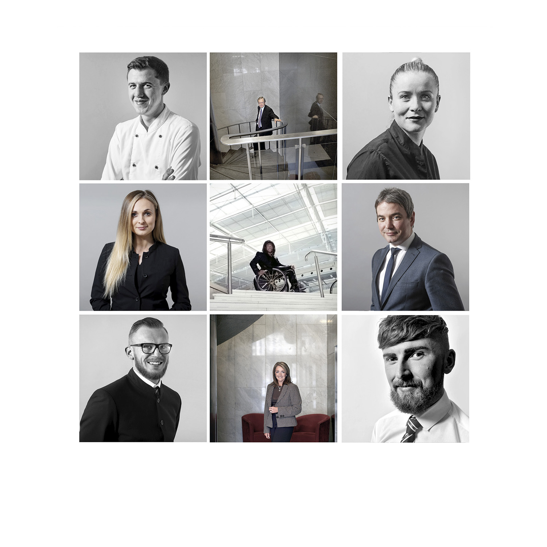 Portrait and Headshot Photography for business, Edinburgh