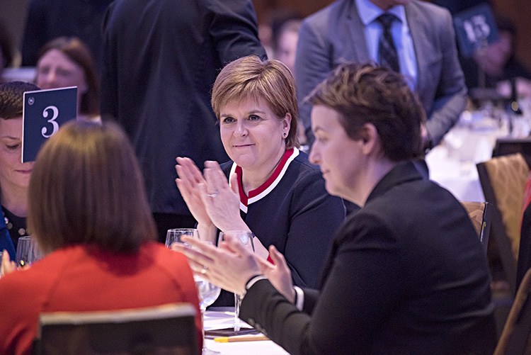 Edinburgh Chamber of Commerce event with First Minister Nicola Sturgeon