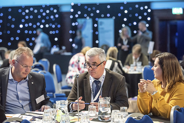 developing the young workforce conference 2019; corn exchange edinburgh event photography