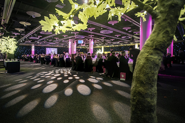 Edinburgh Chamber Business Awards 2019, Wide shot of Event Space
