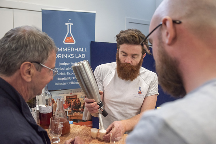summerhall drinks lab at the Edinburgh whisky stramash