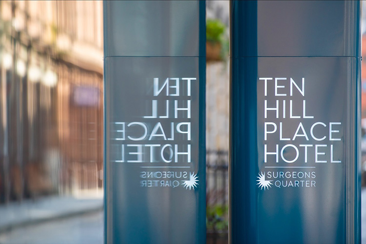 Surgeons Quarter Edinburgh, 10 Hill Place Hotel Snug, hotel interior photographer Edinburgh