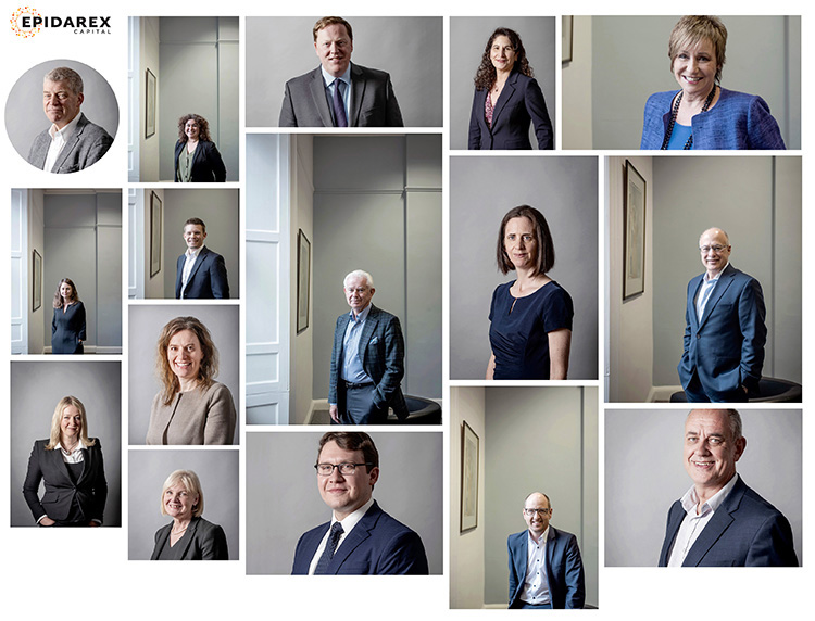 headshots for business, a selection of corporate headshots taken in Edinburgh Office
