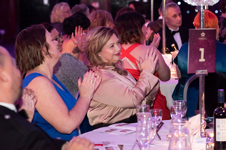 Association of Scottish Businesswomen Awards 2019 at the Edinburgh Corn Exchange. Awards Ceremony Photographer Edinburgh.