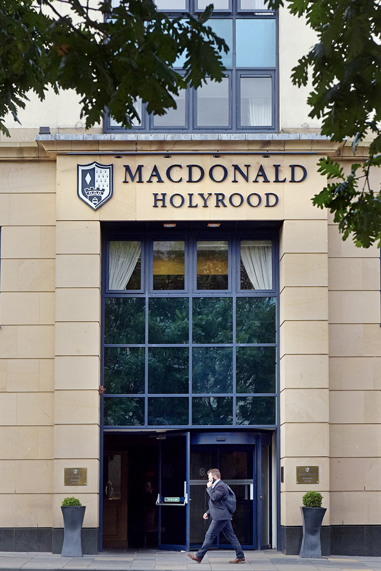 The MacDonald Holyrood Hotel, Edinburgh