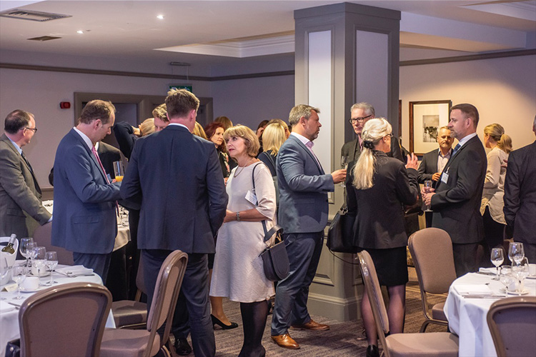 event photography with Benny Higgins, strategic adviser to the First Minister on the establishment of the Scottish National Investment Bank (SNIB) at the MacDonald Holyrood Hotel, Edinburgh