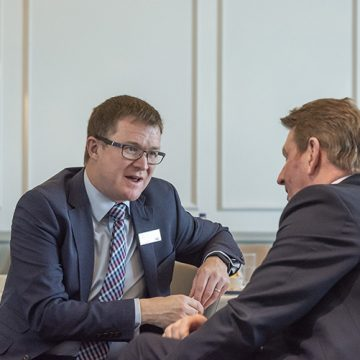 An Edinburgh Chamber of Commerce event at the Carlton Hilton Hotel Edinburgh with David Horne, MD LNER.