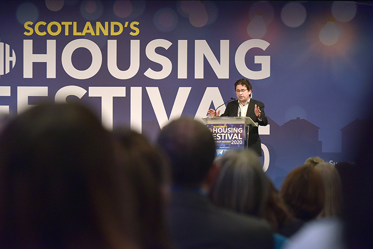 Gavin Smart, chief executive, Chartered Institute of Housing
