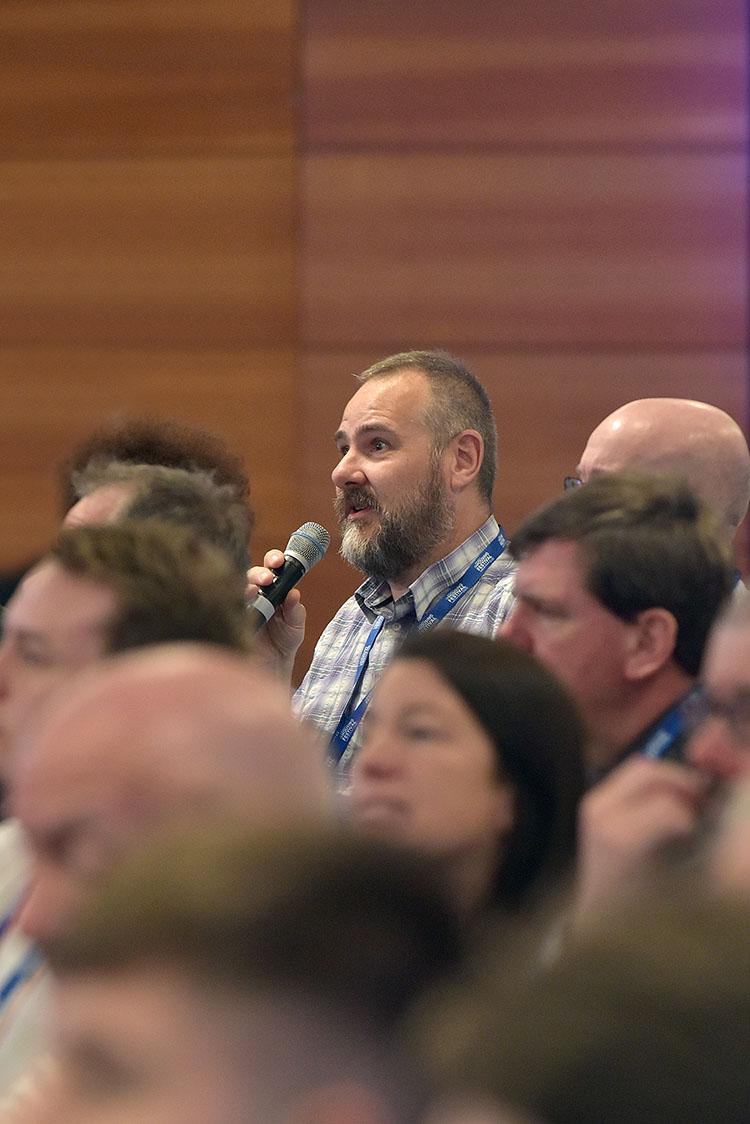 Q&A at the CIH Housing Festival at the EICC