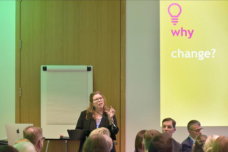 Maggie Brunjes, chief executive, homeless network Scotland at the CIH Housing Festival 2020