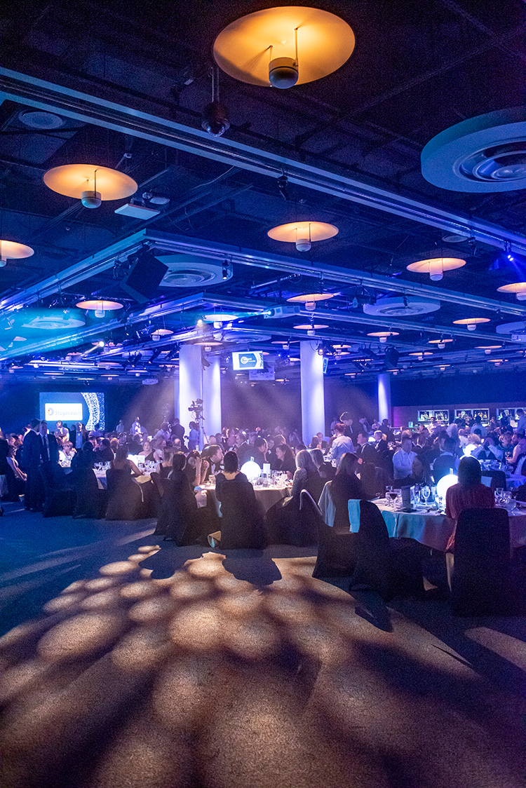 Cromdale Hall, Edinburgh Chamber of Commerce Business Awards 2020, event photography at EICC