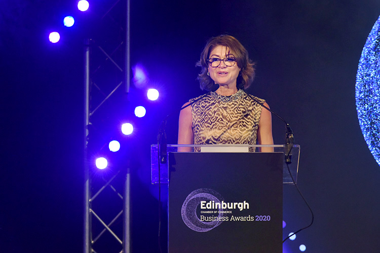 Liz MaAreavey CEO, Edinburgh Chamber of Commerce Business Awards 2020