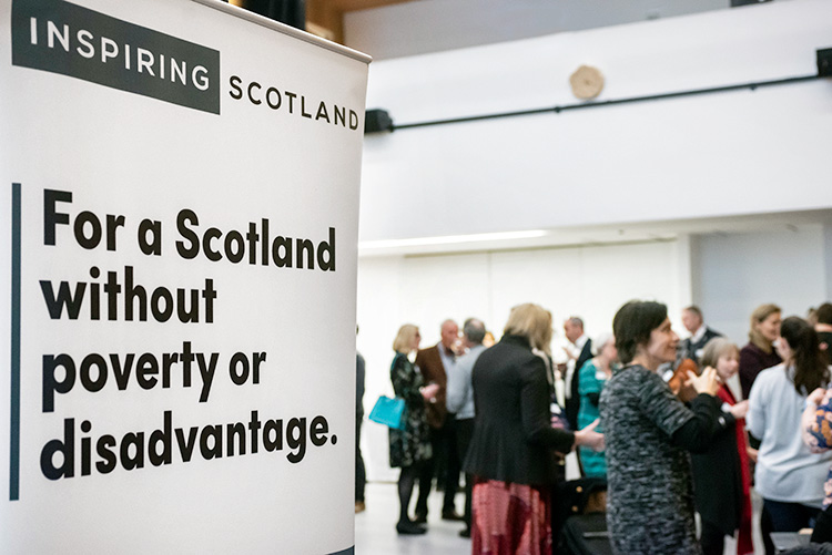 Inspiring Scotland at the Grassmarket Community Project, event photography