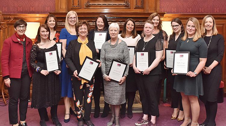 association of scottish business women, women of inspiration awards, virgin money edinburgh, event photography edinburgh