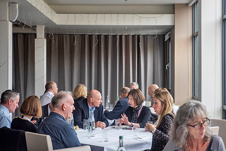 Delegates at the Circular Edinburgh event at the Apex Hotel Grassmarket Edinburgh