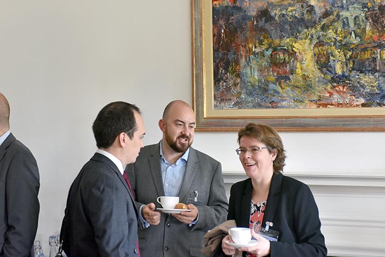 Edinburgh Chamber of Commerce members at Standard Life Aberdeen in edinburgh