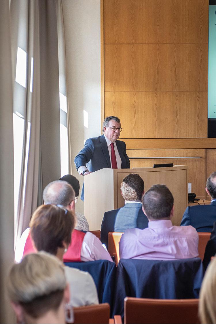 Keith Skeoch CEO Standard Life Aberdeen in Edinburgh; Office; event photography in edinburgh