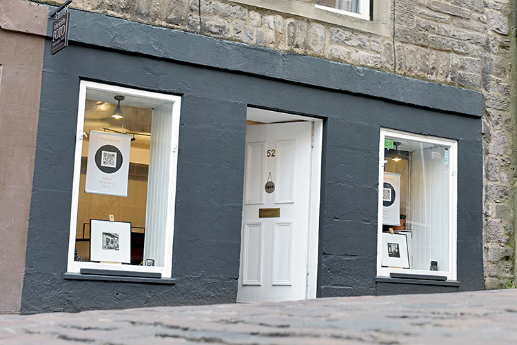 photography studio in Edinburgh city centre